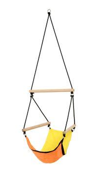 Swinger Yellow Fotel HamakowyDziecięcy