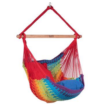 Mexico Rainbow Fotel HamakowyPojedynczy