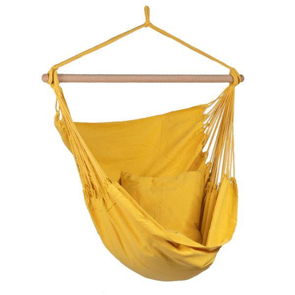 'Organic' Yellow Fotel HamakowyPojedynczy