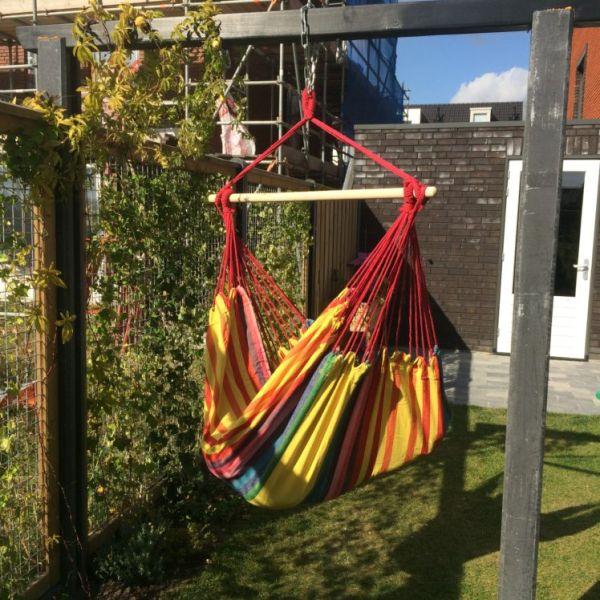 'Tropical' Sunny Lounge Fotel HamakowyPojedynczy