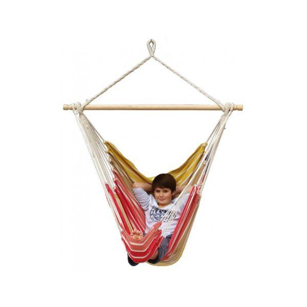 'Tropical' Earth Lounge Fotel HamakowyPojedynczy