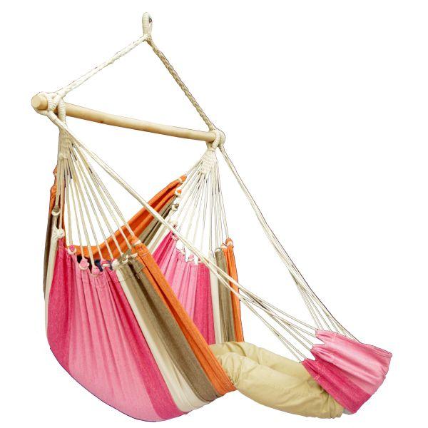 'Tropical' Lychee Lounge Fotel HamakowyPojedynczy